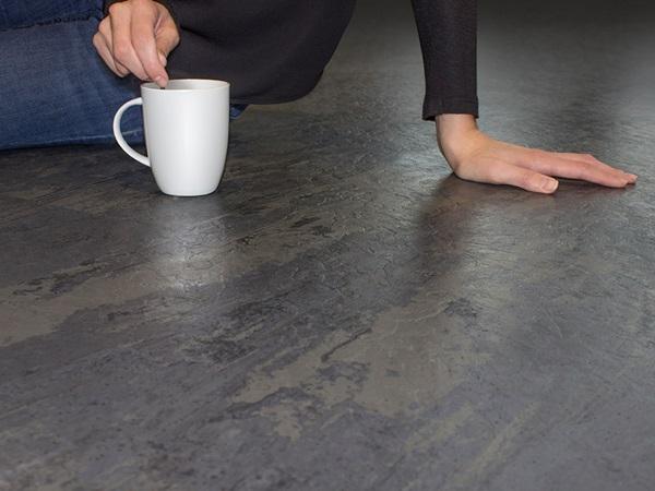 Nora Kautschuk Bodenbelag Gummibodenbelag Elastischer Bodenbelag Gummiboden